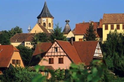 Zellenberg - Crédit photo : Christophe Dumoulin - Office de Tourisme du Pays de Ribeauvillé et Riquewihr