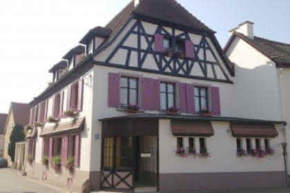 Auberge du Cheval Blanc, Westhalten, Pays de Rouffach, Vignobles et Châteaux, Alsace