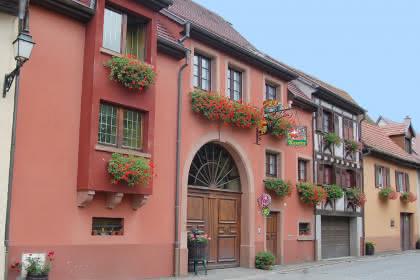 Vins Kuentz, Pfaffenheim, Pays de Rouffach, Vignobles et Châteaux, Haut-Rhin, Alsace