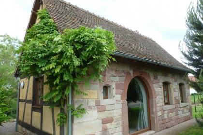 Gîte maison alsacienne