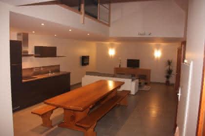 Cuisine & salon