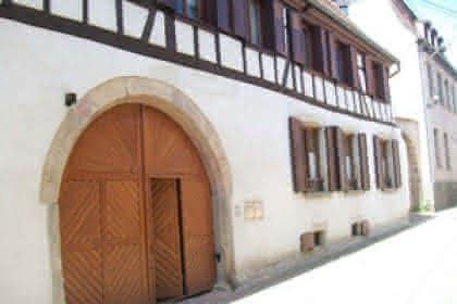 Façade du meublé le Petit bon 'Home' à Rosheim, Alsace